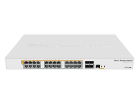 MikroTik CRS328-24P-4S+RM 24port GbE LAN PoE 4xSFP+ port Rackmount Cloud Router Switch