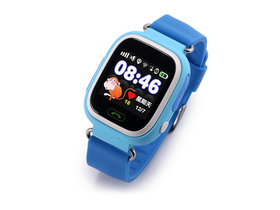 Cellect Kinder Smartwatch mit GPS, blau