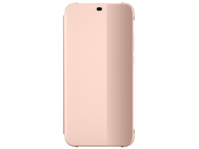 Huawei P20 Lite book cover futrola, pink