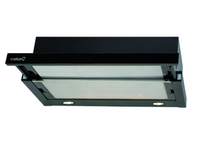 Hota telescopica CATA TF-2003/60 Led Black Glass