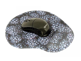 Mouse wireless Sbox WM-206B + mouse pad, negru