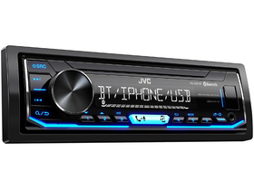 Player auto JVC KD-X351BT Bluetooth, USB/AUX, albastru