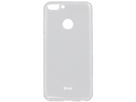 Husa cauciuc / silicon Roar ALL DAY pentru telefon Huawei P Smart (Enjoy 7S), transparent