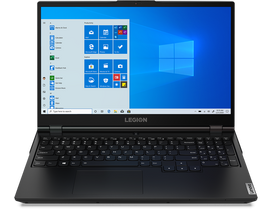 Lenovo Legion 5 82B5004SHV notebook, fekete + Windows 10 Home