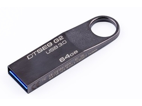 Kingston DTSE9G2 64GB Premium USB 3.0 USB-Stick, metall (200/50)