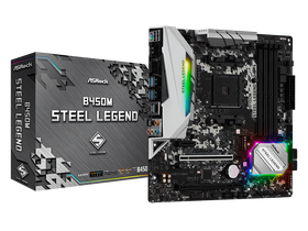 ASRock sAM4 B450M Steel Legend Mainboard