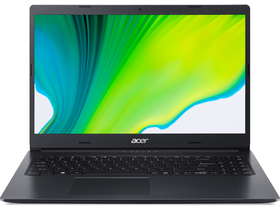 Acer Aspire 3 A315-23-R2LZ notebook, fekete
