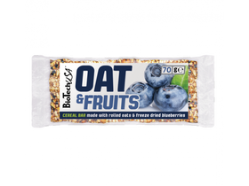 BioTech USA OAT & FRUITS,70g,čučoriedka