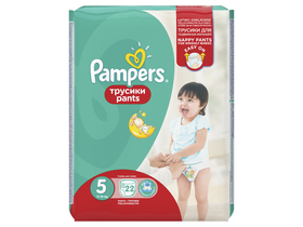 Pampers Premium Care Pants Pelene-gaćice 5 Junior 22 komada