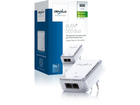 Devolo D 9119 dLAN 500 duo Powerline adaptér