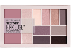 Maybelline The City Kits Pink Edge Paleta, sjenila za oči, rumenilo, hajlajter