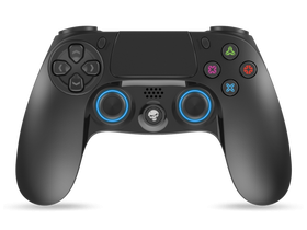 Spirit of Gamer Gamepad, schwarz-blau