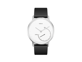 Smart watch Nokia Activité Steel, negru/alb