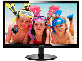 "Philips 246V5LSB/00 24"" LED Monitor, fekete"