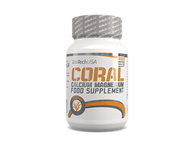 BioTech USA Coral Calcium-Magnesium, 100 tablete, vitamin
