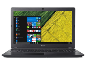 "Notebook Acer Aspire A315-21-251H NX.GNVEU.018 15,6"", negru+ Win10 (tastatura layout HU)"