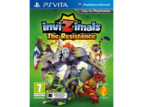 Invizimals:Resistance Playstation Vita