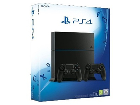 PlayStation® PS4 1TB herný konzol, 2 ks Dualshock 4 kotroléry