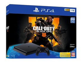 PlayStation® PS4 Slim 1TB játékkonzol + Call of Duty Black Ops 4