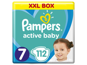 Scutece Pampers Active Baby Monthly Box, 112  buc.