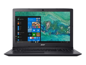 Acer Aspire A315-53G-50DP NX.H1AEU.004 FHD notebook, fekete + Windows 10 home