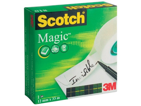 3M/Scotch Magic Tape  12mm x 33m