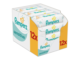 Servetele Pampers Sensitive  (12x56buc.)