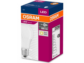 Osram LED value, körte 60 fényforrás-izzó, E27, 60W