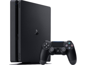 PlayStation® PS4 Slim 500GB konzol, fekete