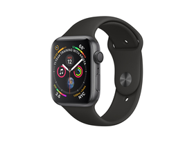 Apple Watch Series 4 GPS, 40mm, carcasa aluminiu space gray, curea sport negru