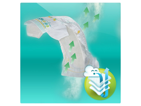 Пелени Pampers  Active Baby-Dry  4+ Maxi+ 53бр.