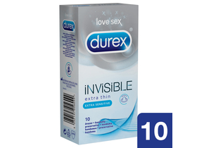 Durex Invisible Extra Thin kondom, 10 kom.