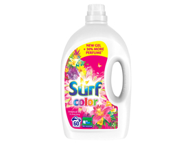 Surf gel za pranje veša, Tropical, 60 pranje, 3 L