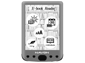 "Navon Bigbook Backlight 6"" ebook čitač 8GB"