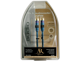 Cablu subwoofer Acoustic Research AP-052N Performance stereo RCA , 4,5m