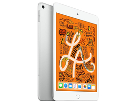 Apple iPad mini (2019) Wi-Fi + Cellular 256GB, ezüst