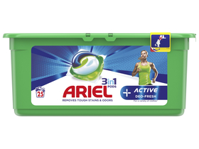 Gel capsule Ariel Active 3in1, 25 buc