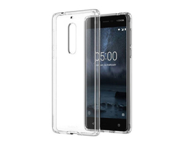 Husa subtire din silicon Cellect Nokia 5, transparenta