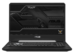 Asus TUF Gaming FX505GD-BQ101 gamer notebook, fegyvermetál