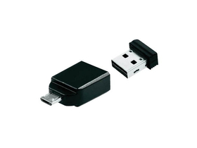 Verbatim 16GB pendrive, USB 2.0+micro USB adapter