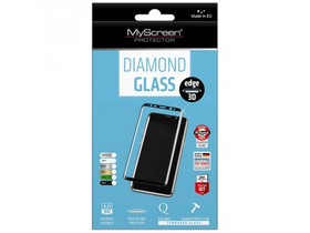 Myscreen DIAMOND GLASS edge 3D kaljeno staklo za Samsung Galaxy S7 EDGE (SM-G935), (full cover), srebrno