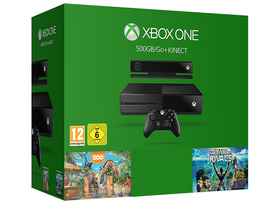 Xbox One 500GB + Kinect + Kinect Sports Rivals + Zoo Tycoon