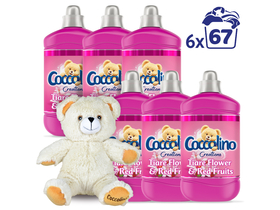Coccolino Creations Tiare Flower & Red Fruits омекотител, 6x1680ml