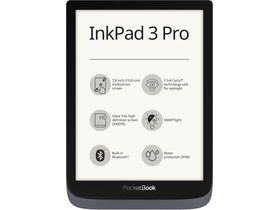 PocketBook Inkpad 3 Pro ebook olvasó, metálszürke