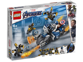 LEGO® Super Heroes 76123 Captain America: Outrider-Attacke