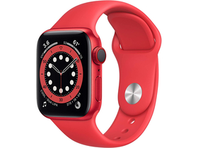 Apple Watch Series 6 GPS + Cellular 40 mm (PRODUCT)RED mit Sportarmband (PRODUCT)RED