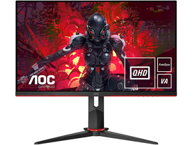 AOC Q27G2U/BK QHD VA 1ms 144hz gaming LED monitor