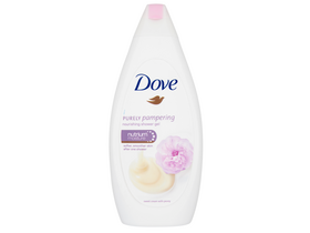 Dove Purely Pampering Sweet Cream with Peony tusfürdő, 500 ml