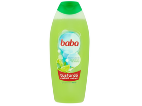 Gel de dus revigorant cu lime si menta Baba, 750ml