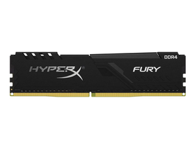Kingston HX424C15FB3/16 HyperX Fury DDR4 16GB 2400MHz CL15 DIMM памет, черен